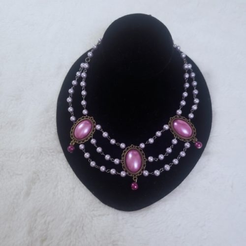 noble jewels purple necklace